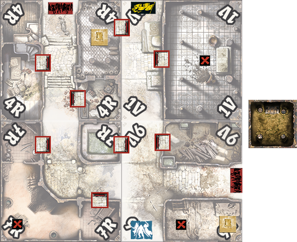 Scenario Calidi Sanguis 2 joueurs Black Plague